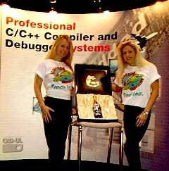 CAD-UL Champagne Winner and Booth Partner