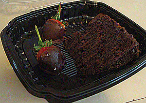 Abe & Louie's Microchip Chocolate Cake