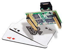 New Embedded Ethernet Coldfire Module by NetBurner